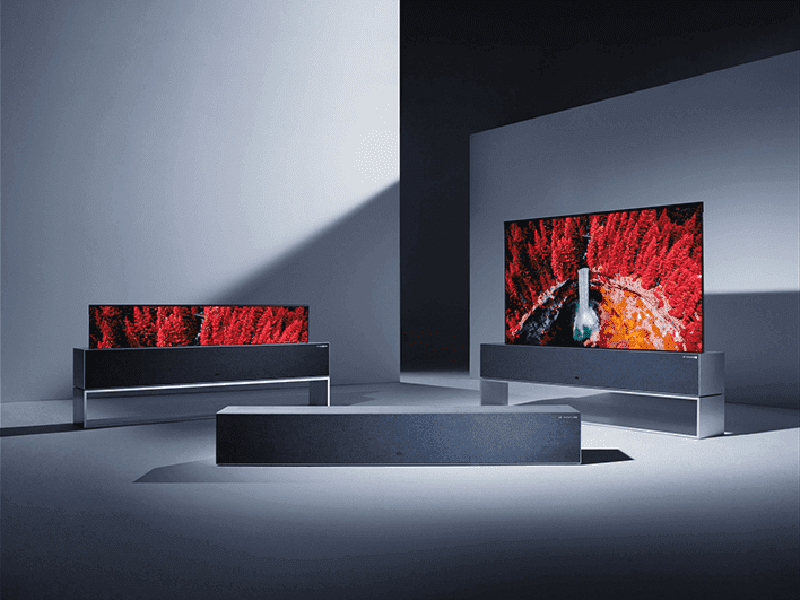 CES 2019: LG launches a 4K OLED roll-up TV, available this year