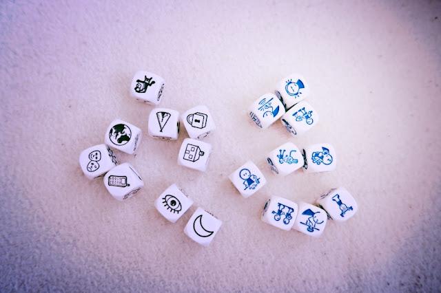 slowlingo, story cubes, jak się uczyć