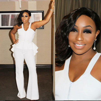Rita Dominic Dazzles In See-through Gown To Tiff 2016 Event