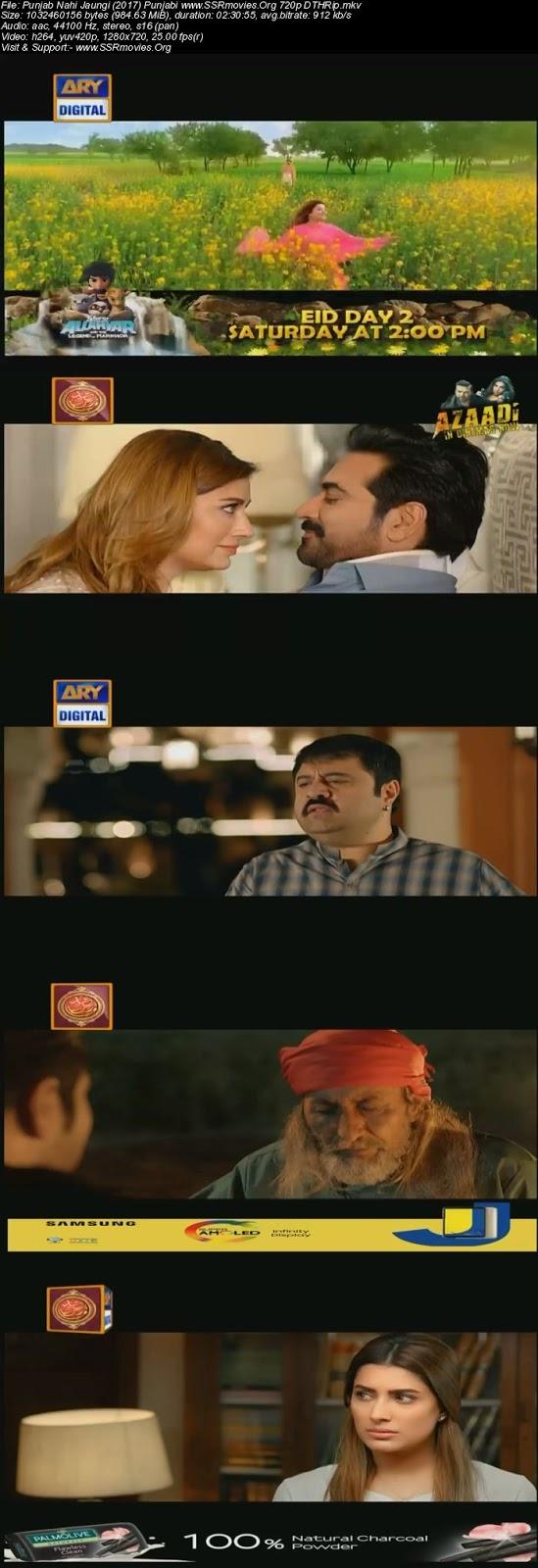 Punjab Nahi Jaungi (2017) Punjabi 720p DTHRip