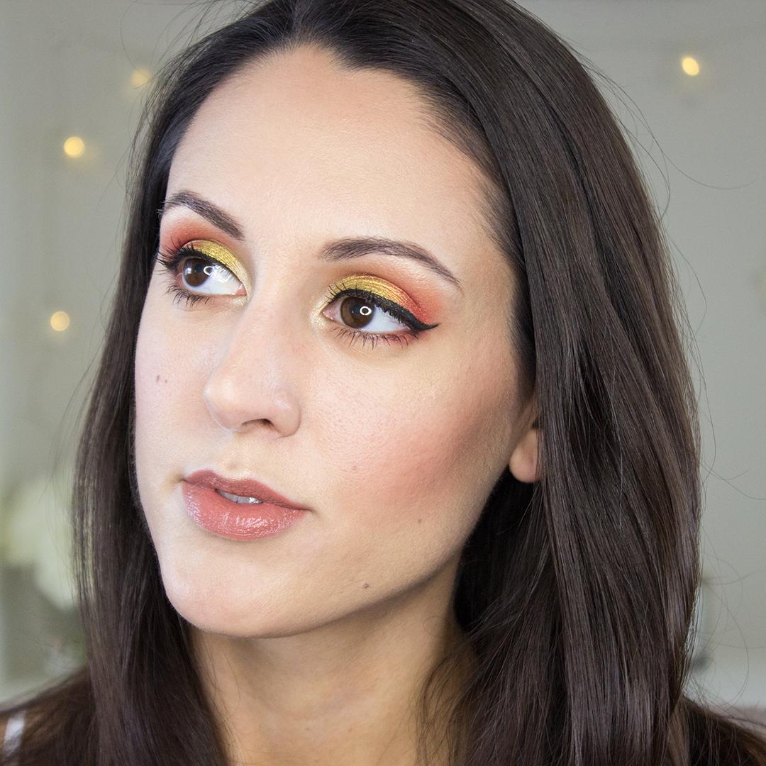 Juvia's Place The Saharan Eyeshadow Palette Makeup Look