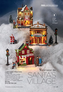 avon catalog 25 light up villages