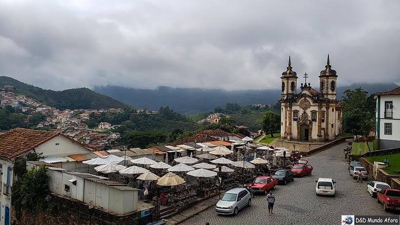 Feira de Artesanato de Pedra Sabão - o que fazer em Ouro Preto