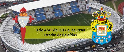 Previa Celta de Vigo - UD Las Palmas 3 abril 19:45