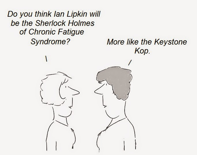 ian lipkin, microbiome, fauci, cfs, chronic fatigue syndrome