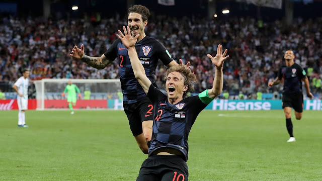 Croatia beats Argentina by 3 goals, enters knockout phase