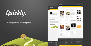 Quickly Blogger Template Premium
