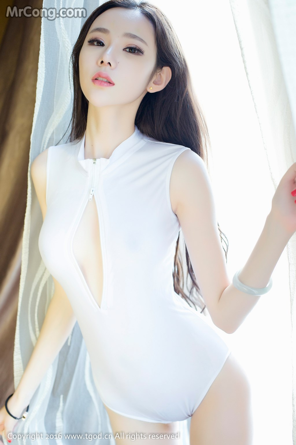 TGOD 2016-10-14: Người mẫu Irene (萌琪琪) (60 ảnh)