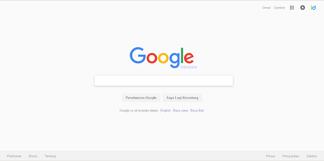 Catatan Ikrom Tampilan Terbaru Website Google Search 1