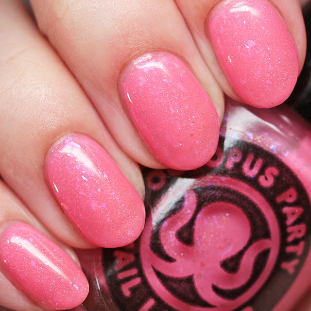 Octopus Party Nail Lacquer Kawaii Five-O