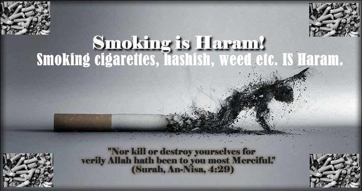 smoking in islam hadith