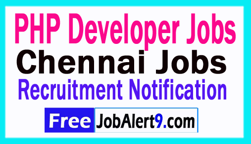 PHP Developer Jobs In Chennai
