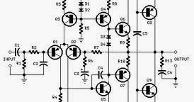 Wiring Schematic Diagram: 70 Watt Guitar Amplifier Using