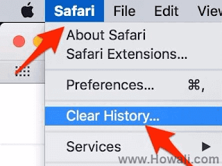How to clear browsing history on Safari in Mac
