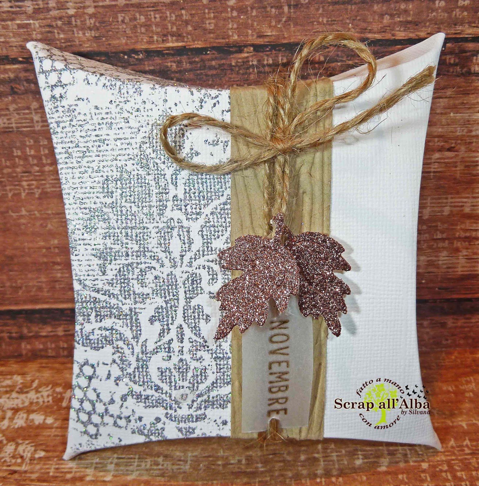 Scrap All Alba Scatolina Pillow Autunno