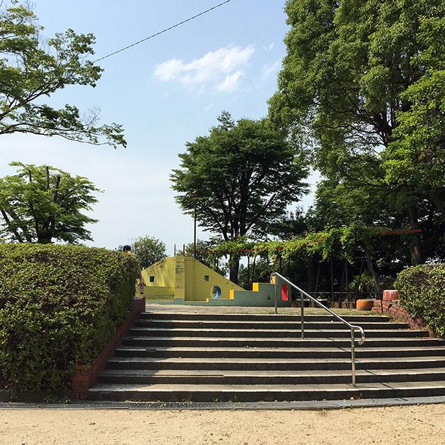 鳴海城跡公園(2017年6月10日撮影)