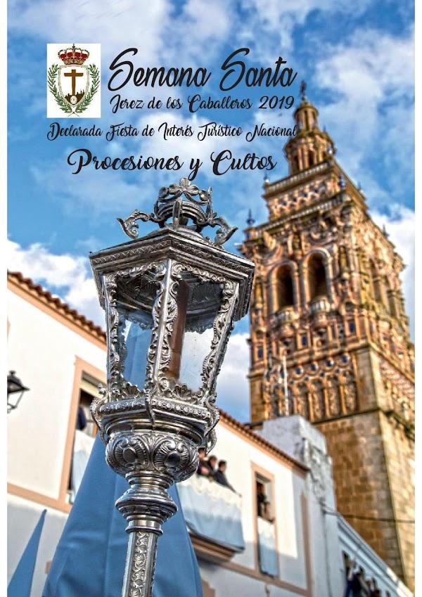 Programa, Horarios e Itinerarios Semana Santa Jerez de los Caballeros (Badajoz) 2019