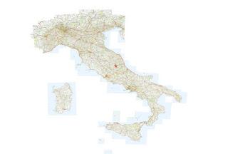 Localizzazione geografica a scala nazionale