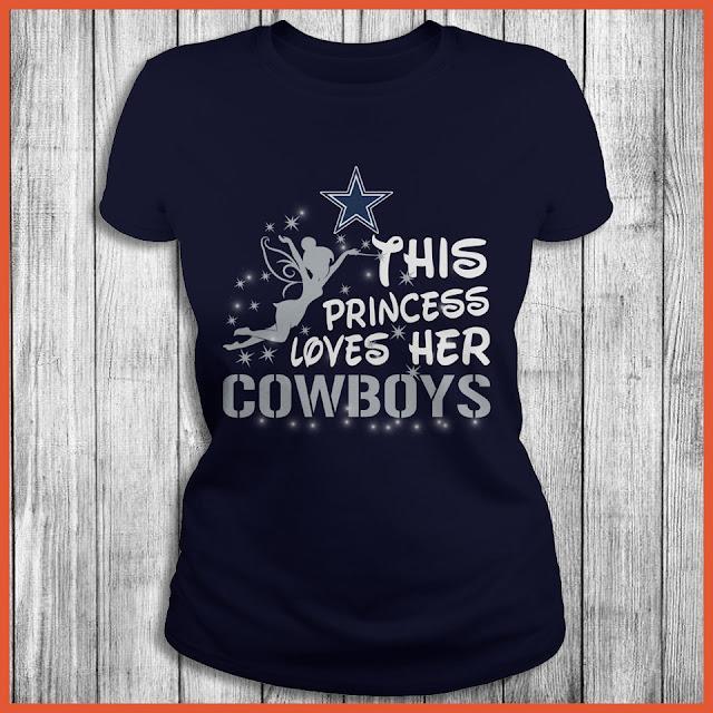 This Princess Loves Her Dallas Cowboys Shirt