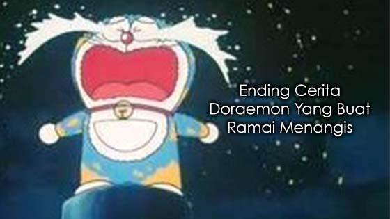 Ending Cerita Doraemon Yang Buat Ramai Menangis