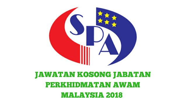 Jawatan Kosong Jabatan Perkhidmatan Awam Malaysia 2021 (JPA)