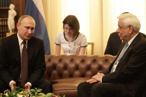 Η προσφώνηση Παυλόπουλου στον Ρώσο Πρόεδρο Βλαντιμίρ Πούτιν... (βίντεο)
