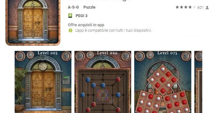 Soluzioni 100 doors saga di tutti i livelli dgame for 100 doors 2 door 8
