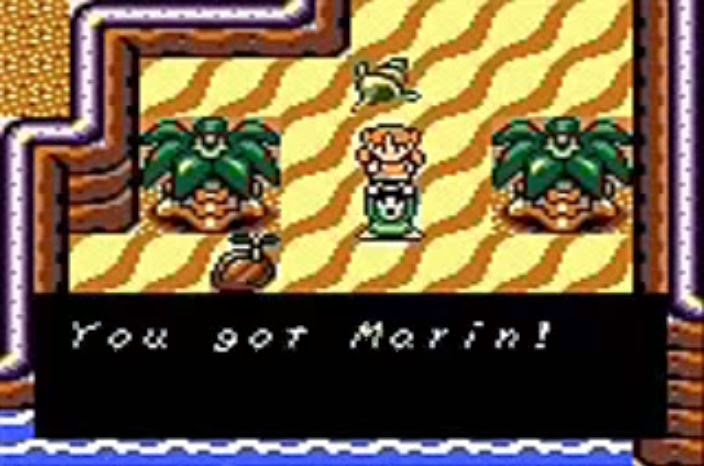 The Legend of Zelda: Link's Awakening you got Marin