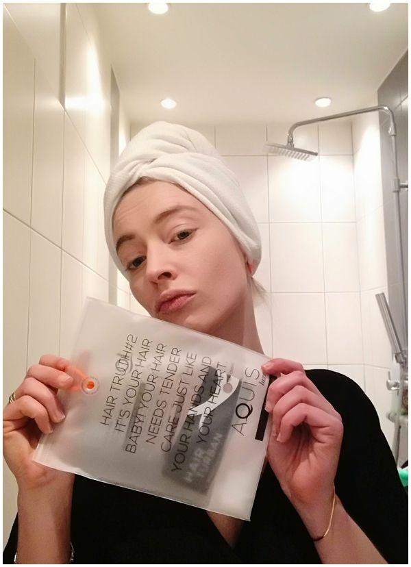 Serviette à cheveux Aquis, Hair Turban chez Sephora - Blog beauté