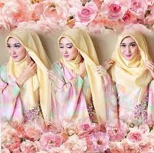 tutorial hijab simple wisuda dengan kebaya