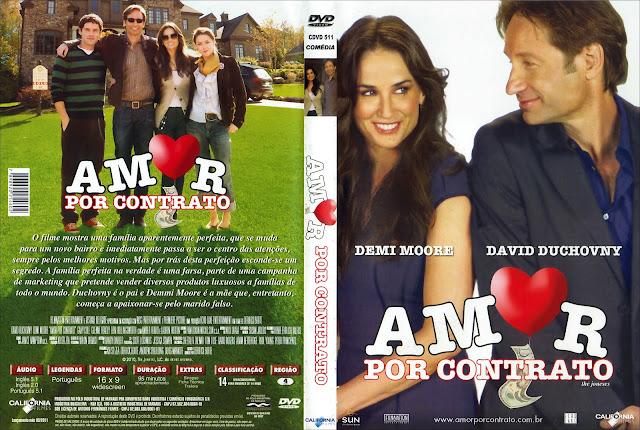 Capa DVD Amor por Contrato