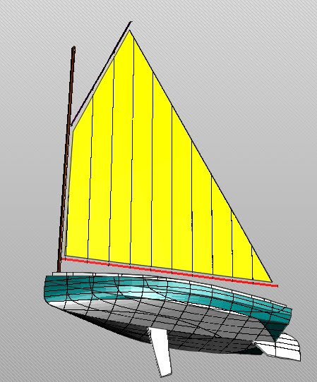 ... Delftship, but I think a good stitch and glue catboat can be done