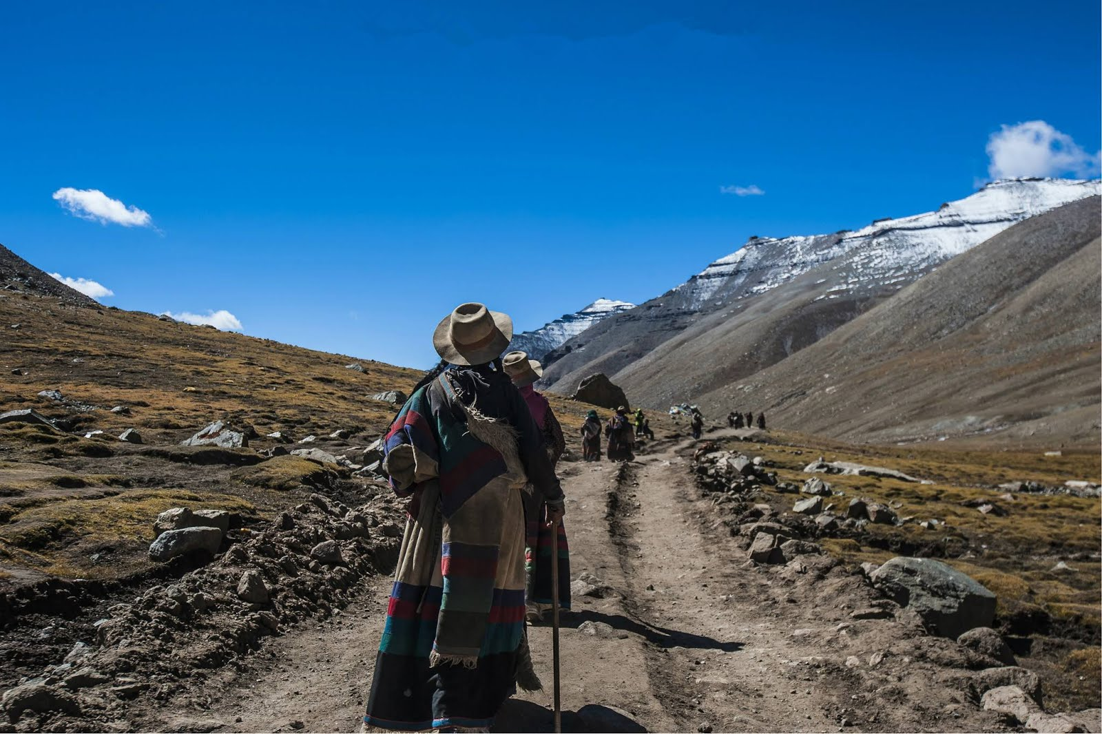 Trek from Darchen to Kailash.