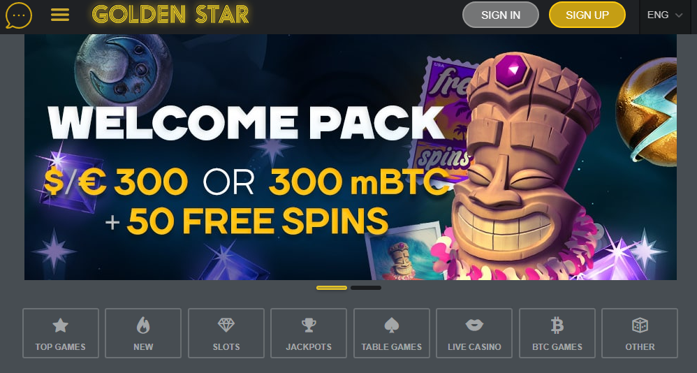 промокод golden star casino