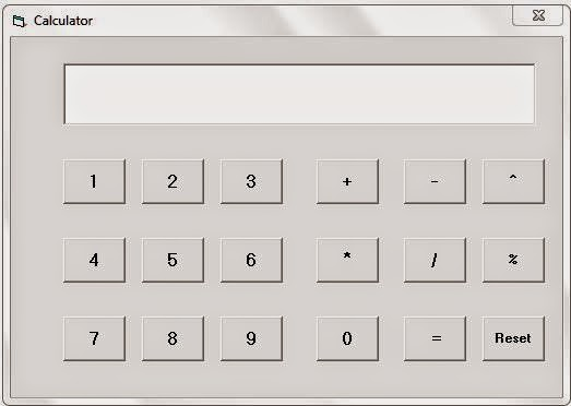 Simple Calculator Idle