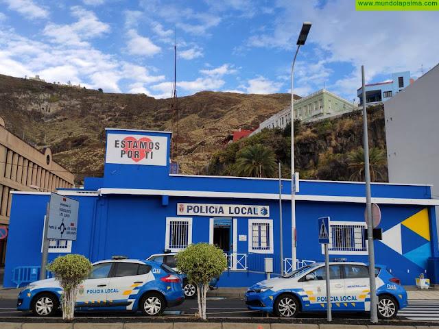 La Policía Local de Santa Cruz de La Palma denuncia a una conductora que triplicaba la tasa de alcoholemia en plena alarma