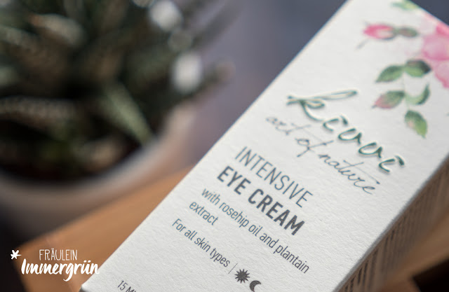 Kivvi Intensive Eye Cream with Rosehop Oil and Plantain Extract