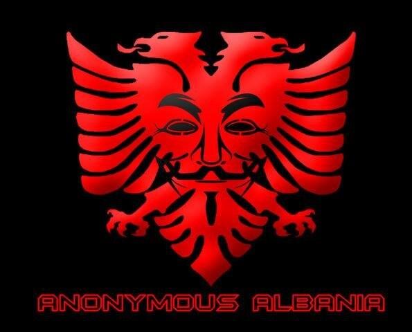 Anonimous Albania symbol
