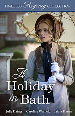 Heidi Reads... A Holiday in Bath by Julie Daines, Caroline Warfield, Jaima Fixsen