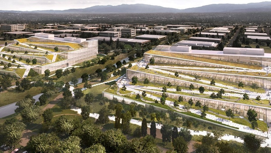 Así Será El Edificio Corporativo De Google En California