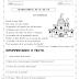 Atividade de 3º Ano: Interpretação de texto com sílabas complexas