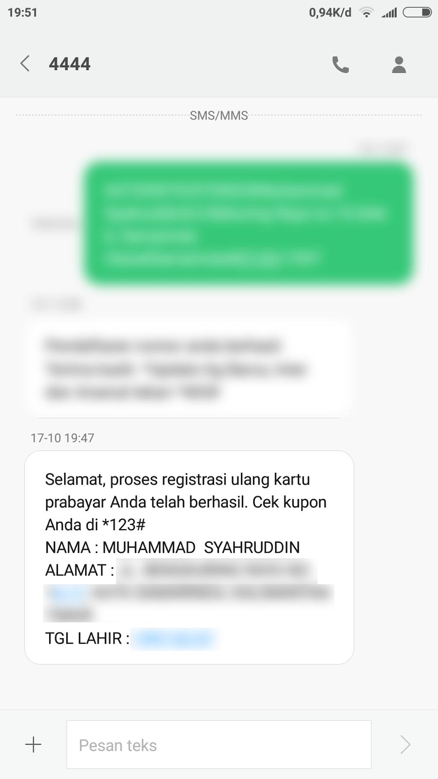 Cara Registrasi Kartu Prabayar Telkomsel  NumpangJejak