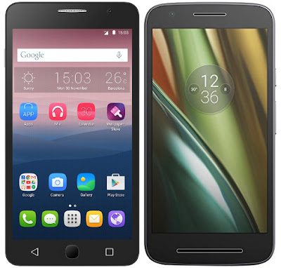 Alcatel Onetouch Pop Star 3G vs Motorola Moto E3