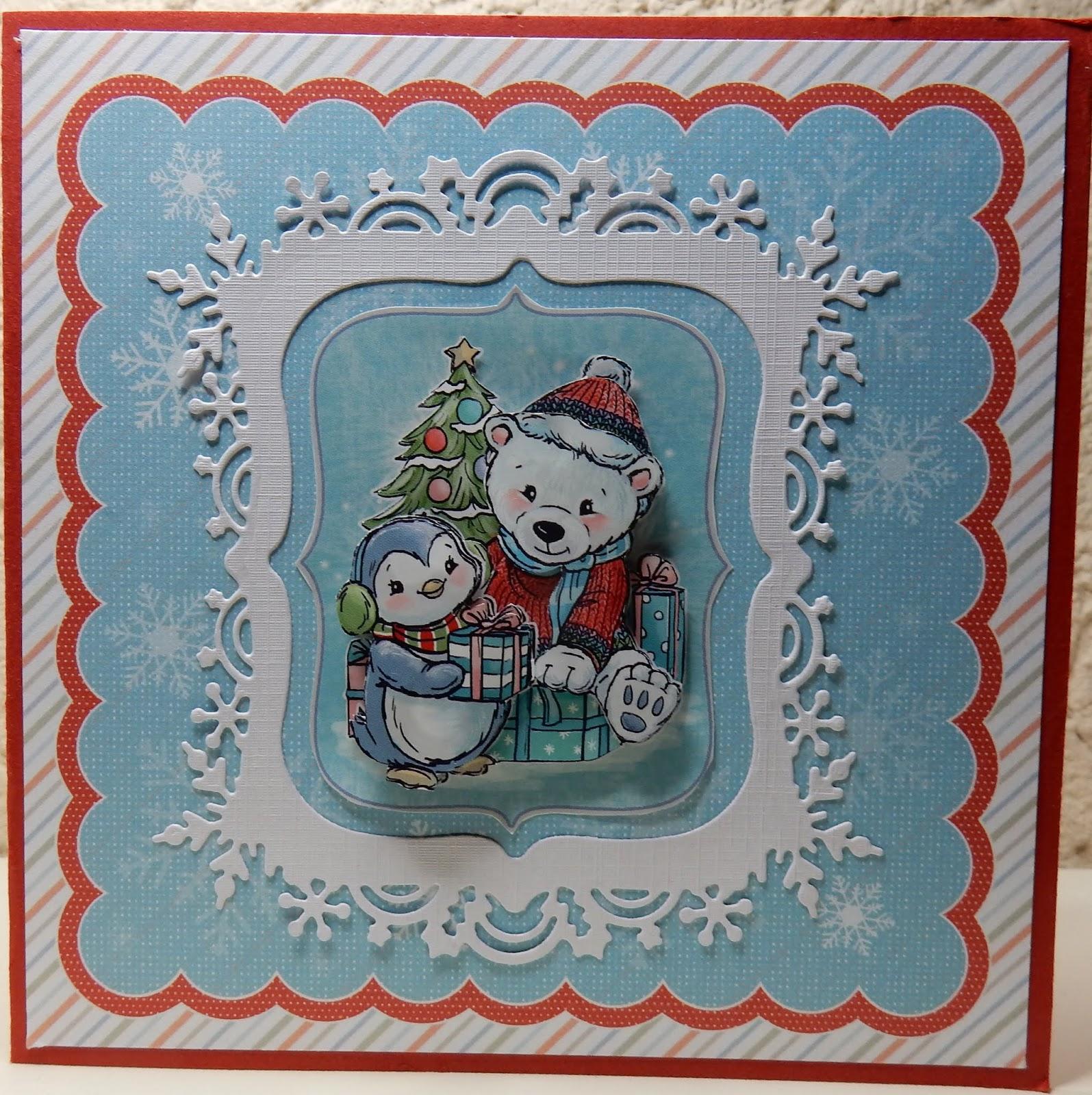 Uitzonderlijk Hetty's Knutselhokkie!: Yvonne Creations Christmas Dreams &MW91