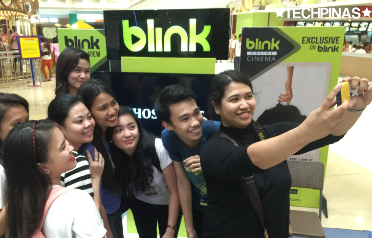 Blink Video On Demand, SM MegaMall Event, Blink SM Solar