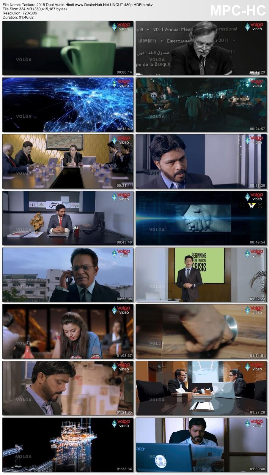 Taskara 2015 Dual Audio [Hindi – Telugu] UNCUT 480p HDRip 300MB Desirehub