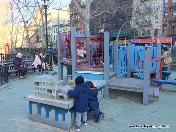 Hester Street Playground in NYC