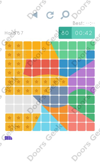 Cheats, Walkthrough for Blocks and Shapes Hard Level 67