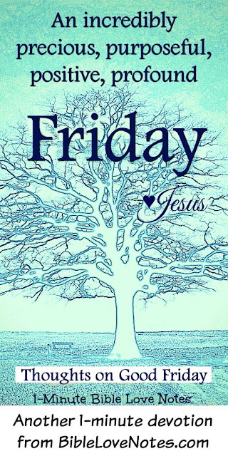 Good Friday, Salvation