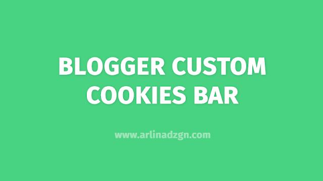 Modifikasi Tampilan Cookies Bar dengan CSS